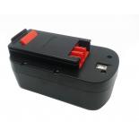 Batterie d'outillage 18V 2,0Ah Ni-Cd / Ni-Mh BLACK & DECKER A18 / A1718