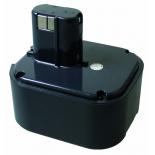 Batterie d'outillage 24V 3,0Ah Ni-Cd / Ni-Mh HITACHI EB24B / EB2430H