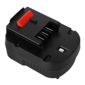Batterie d'outillage 12V 1.5Ah Ni-Cd Black & Decker A12