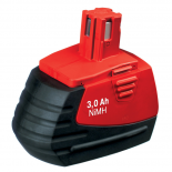 Batterie d'outillage 18V 3,0Ah Ni-Cd / Ni-Mh reconditionné HILTI SFB185 / SFB180