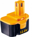 Batterie d'outillage 12V 2.0Ah Ni-Mh Ryobi BPP-1217 / BPP1213 / B1231T / B1203T / B1204 / B1270T / B1220 / BPP1220F