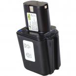 Batterie d'outillage 9,6V 3,0Ah Ni-Cd / Ni-Mh BERNER 9,6V