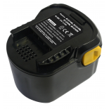 Batterie d'outillage 12V 2,0Ah Ni-Cd / Ni-Mh AEG B1214G / B1215R