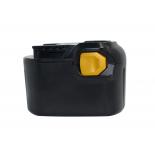 Batterie d'outillage 14,4V 1,5Ah Ni-Cd / Ni-Mh AEG B1414G / B1415 R