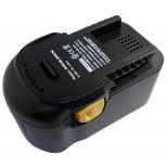Batterie d'outillage 18V 2,0Ah Ni-Cd / Ni-Mh AEG B1820 R / B1814 G