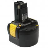Batterie d'outillage 9,6V 2,0Ah Ni-Cd / Ni-Mh BOSCH 2 607 335 524 / 2 607 335 540