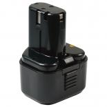 Batterie d'outillage 9,6V 2,0Ah Ni-Cd / Ni-Mh HITACHI EB914S / EB9S
