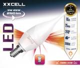 Ampoule LED flamme D�co XXCELL E14 6W 470Lm 2700K