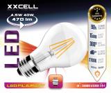 Ampoule LED FILAMENTS XXCELL E27 4.5W 470Lm 2700K