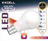 Ampoule LED XXCELL B22 8.5W 806Lm 3000K