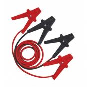 Câble de démarrage 500A / 25mm² de 3.5m avec pinces isolées
