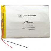 Batterie de tablette android Lipo 3.7V 7000mAh avec connecteur universel