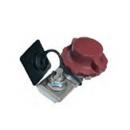 Cosse batterie étamé spécifique CITROEN/PEUGEOT/RENAULT antivol à robinet - borne positive