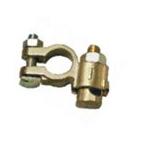 Cosse batterie laiton double serrage tracteur et PL 16mm / 70mm2 - borne négative
