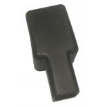 Capuchon de protection pour cosse batterie double serrage tracteur 16mm / 70 mm2 - borne négative