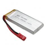 Batterie pour quadricoptere et mini drone Li-po 3.7V 580mAh 25C avec connecteur
