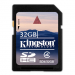 Carte m�moire Kingston SDHC card 32GB classe 4