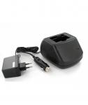 Chargeur 1 voie pour télécommande de grue Scanreco 590/960 avec prise allume cigare