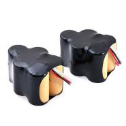 2 batteries aspirateur robot 6V 3Ah pour Bosch / DEEBOT BBH