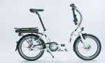 Vélo éléctrique Ansmann Mini-Wave pliable blanc 7 / 35 / 20 / 9Ah