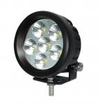 Phare de travail à led rond 12/24V 18W 1440 lumens étanche