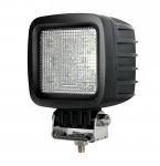 Phare de travail à led carré 12/24V 30W 2520 lumens étanche