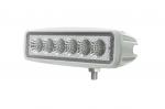 Phare de travail à led rectangulaire blanc 12/24V 18W 1440 lumens étanche
