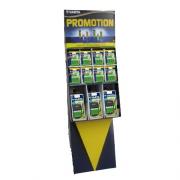 Présentoir de 66 blisters de piles rechargeables Ready to use Varta AA, AAA, et son Chargeur Plug