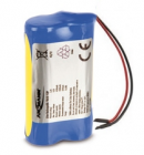Pack de batteries li-ion 2S1P 7.4V / 7.5V 2600mah - Ansmann 2447-3030