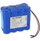 Pack li-ion 4S2P 14.8V 5200mah - Ansmann 2447-3035-01 avec BMS
