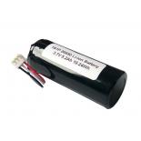 Pack li-ion 1S1P NMC 26650 3.6V-3.7V 5200mah avec BMS