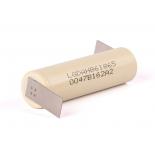 Accu industriel li-ion 18650 3.7V 1500mAh 30A LG INR 18650-HB6 avec pattes à souder Z
