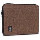 Housse pour MacBook 13  Marron motif chevrons
