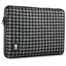 Housse pour MacBook Pro 15  Pied de Poule Noir / Gris