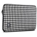 Housse pour MacBook 13  Pied de Poule Noir / Blanc