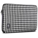 Housse pour MacBook Pro 17  Pied de Poule Noir / Blanc