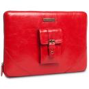 Housse pour MacBook Pro 13  casablanca Cuir Rouge