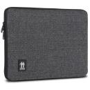 Housse pour Ordinateur portable PC 16   Gris motif chevrons