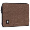 Housse pour Ordinateur portable PC 10  Marron motif chevrons