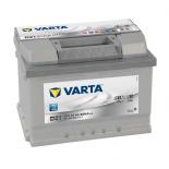 Batterie de démarrage Varta Silver Dynamic L2B D21 12V 61Ah / 600A  561400060