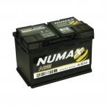Batterie de démarrage Numax Supreme L3 096AGM 12V 70Ah / 760A