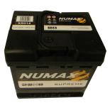 Batterie de démarrage Numax Supreme L1 XS012 12V 55Ah / 560A