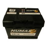 Batterie de démarrage Numax Supreme LB2 XS075 12V 62Ah / 620A