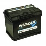 Batterie de démarrage Numax Premium L2  027 12V 60Ah / 500A