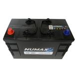 Batterie de démarrage Poids Lourds et Agricoles Numax Premium TRUCKS C13G / LOT 7 664 12V 110Ah / 800A