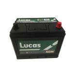 Batterie de démarrage Lucas Fusion AGM D26 LF068 12V 75Ah / 720A