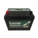 Batterie de démarrage Lucas Fusion AGM D26 LF069 12V 75Ah / 720A