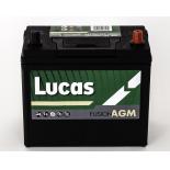 Batterie de démarrage Lucas Fusion AGM B24 LF057 12V 45Ah / AUX