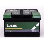 Batterie de démarrage Lucas Fusion EFB L4 LE115 12V 80Ah / 730A