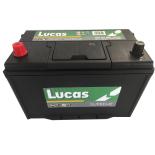 Batterie de démarrage Lucas Supreme D31 LS250 12V 100Ah / 800A